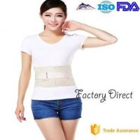 Double Pull Breathable Waist Back Support Belt , Back Braces For Lower Back Pain