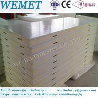 Buy cheap 960MM width PU/PIR cold room panel tounge and groove for cold room product
