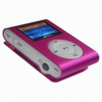 Buy cheap Clip-on MP3 Player with LCD Screen, Supports TF Card product