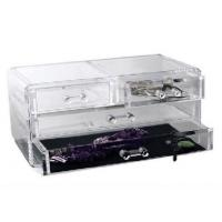 Buy cheap Competitive Prices Acrylic Three Drawer Organizer With Quick Delivery product