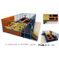 China 78M2 Professional Gymnastic Trampoline Bungee Park/ Fashional Sports Indoor Trampoline Park wholesale