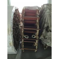 Buy cheap Wooden Nylon Rope Boat Boarding Ladders Rubber Pad Pilot product