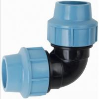 Buy cheap 90Degree PVC/PP pipe fitting product and custom mould product