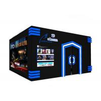 Buy cheap VR Chair Motion Theater 5D 7D Virtual Reality Cinema Gaming Platform Equipment product