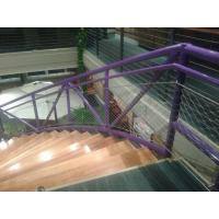 Buy cheap Reliable Stainless Steel Balustrade Mesh , Trong Toughness Handrail Wire Mesh product