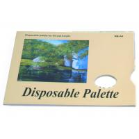 Buy cheap Acrylic / Oil Painting Pad Disposable Palette Type , Artist Drawing Pad 48 sheets 58gsm product