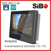 Buy cheap SIBO 7 Inch Tablet Q896 With Glass Wall Mount Bracket LED Light For Meeting Room Ordering product