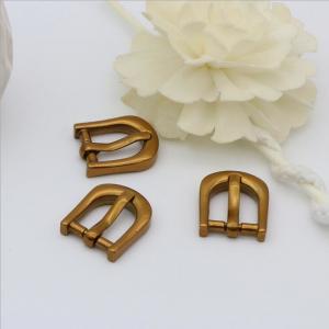 Buy cheap OEB Antique Gold Factory Custom Zinc Alloy 14.3 MM Metal Belt Pin Buckle product