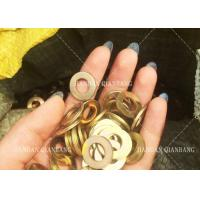 Buy cheap M3-M104 Size Metal Flat Washers For Bolts / Wedge Anchors / Sleeve Anchor product