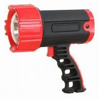 Buy cheap 3W rechargeable handheld spotlight, ABS housing product