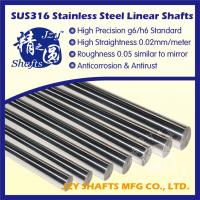 China SUS304 stainless steel bright bar high precision g6 h6 standard with roughness 0.05 similar to mirror on sale