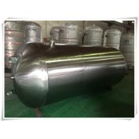Buy cheap Different Capacity Compressed Air Storage Tank U Stamped Pressure Vessel product