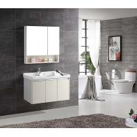 Buy cheap Multi Layer Bathroom Vanity Cabinets Solid Wood Wall Mounted Modern Style product