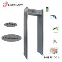 Buy cheap Guard Spirit LCD display 18 zone archway metal detector For security from wholesalers