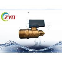 Buy cheap Mini Brass Water Shut Off Valve , Copper Ball ValveFor Water Air / Gas product