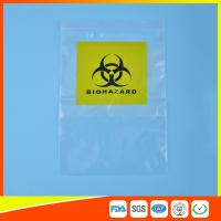 Buy cheap Reclosable Clear Ziplock Lab Guard Specimen Bag With Three Layer product