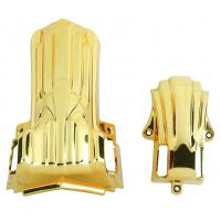 Good Decoration Funeral Accessories 11# G Steel Pipe Electronic Shining Gold for sale