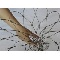 Buy cheap High Durability Rucksack Security Net , Backpack Lock Mesh For Protect Stolen product