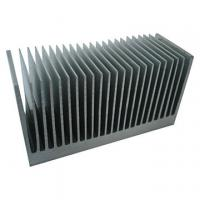 Buy cheap Extruded Aluminum Heatsink Extrusion Profiles , 6061 / 6005 Aluminum Heatsinks For Solar PV Products product