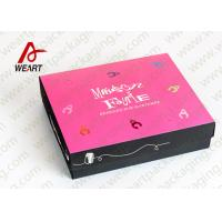China Foladable Flat Large Decorative Gift Boxes With Lids on sale
