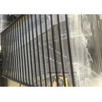 Buy cheap Tubular Picket Zinc Steel Fence , Coated Decorative Wire Mesh Garden Fence product