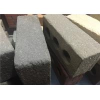 Buy cheap Sandblast Face Three Holes Perforated Clay Bricks With Variety Colors product