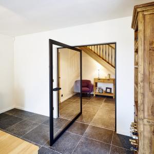Buy cheap 6A 27A Aluminum center pivot glass doors For Modern House product