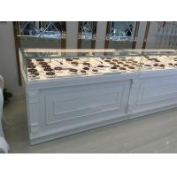 Buy cheap White Color Jewelry Store Showcases Jewellery Display Cabinets OEM / ODM Available product