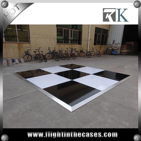 Quality Wholesale portable 4' * 4'  wooden dance floor,buy disco parquet dance floor portable dance floor edge for sale