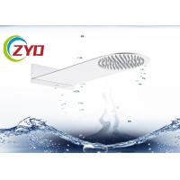 Buy cheap Solid Surface Square Hand Shower Head Ultra Thin Brushed Steel Material product