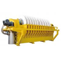 Buy cheap Compact Design Iron Ore Slurry Rotary Disc Filter , Vacuum Filtration System product