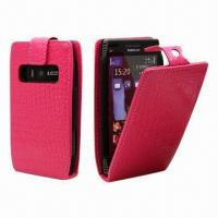 Buy cheap Leather Phone Cases for Nokia, Flip Style with Magnetic Tap Closure product