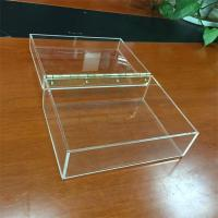 Buy cheap multi function clear fashion custom wholesale acrylic cube storage boxes product