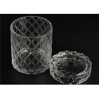 Buy cheap Beautiful Straight Wall Glass Cylinder Candle Holders For Candle Making product
