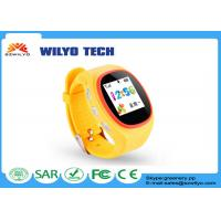 Buy cheap Gsm Sos Kids GPS Tracking Smart cell phone watch android IOS AGPS from wholesalers