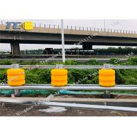 Buy cheap RBD245 ISO Rolling W Beam Safety Barrier , Polyurethane Crowd Control Barriers product