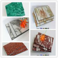 Buy cheap Fashion marble design acp for exterior cladding decorative product