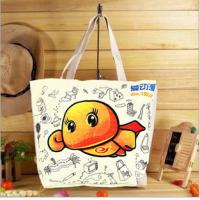 Buy cheap High quality 100% cotton canvas shopping bag product