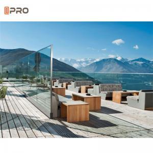 Buy cheap ISO9001 Aluminum Glass Balustrade Systems Stairs Aluminium Railing product