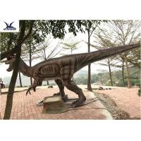 Buy cheap Giant Dilophosaurus Model Outdoor Dinosaur Statues , Dinosaur Yard Art  product