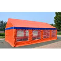 Buy cheap Orange Large Capacity Outdoor Party Tents , Easy Installation Garden Party Tent  product