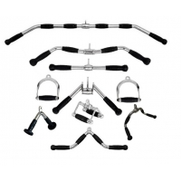 China V Shape Tricep Press Down Bar Cable Machine Attachment, V-shaped tricep pushdown bar on sale