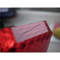 China Odorless Red Metallic Bubble Envelopes  , 245x330 #A4 Bubble Wrap Envelopes on sale