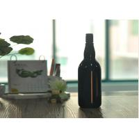 Buy cheap Blown Cutting Glass Wine Bottles 1 Liter Glass Liquor Bottles Customized product