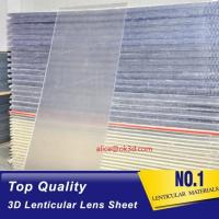 Buy cheap 20 LPI 3mm 120x240 lenticular flip  sheet forlarge format 3D lenticular printing with Flip effect printing Canada product