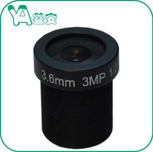 Durable Dome Camera MTV Mount Lens HD 5 Million Wide Angle Black Color