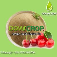 Buy cheap HOT SALE DOWCROP HIGH QUALITY LIGHT YELLOW POWDER AMINO ACID CHELATED IRON 100% WATER SOLUBLE ORGANIC FERTILIZER product