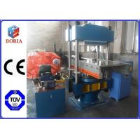 Buy cheap PLC Rubber Press Machine , Hot Vulcanizing Machine With Push Pull Device product