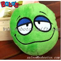 Buy cheap Green Plush Squeakly Face Style Pet Toy Dog Cat Toy product
