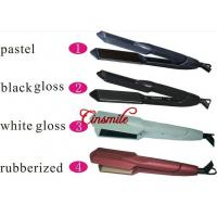 China Electric Ceramic Flat Iron Hair Straightener Adjustable Temperature wholesale